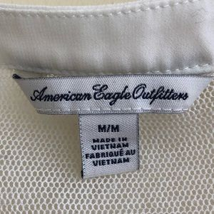 American Eagle Outfitters Tops - American Eagle Crocheted Tank Blouse